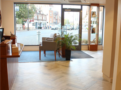 Gordon Turner Optometrists interior view