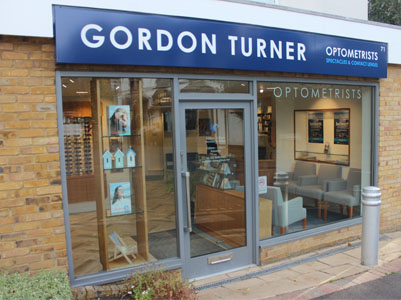 Exterior photo of Gordon Turner Optometrists