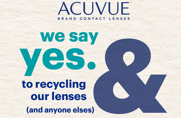 Acuvue Contact Lens Recycle Programme