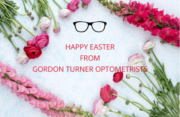 Happy Easter from Gordon Turner Optometrists