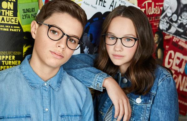 Teenagers wearing Rock Star frames