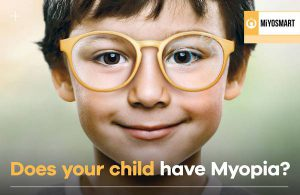 Spectacle lens for myopia